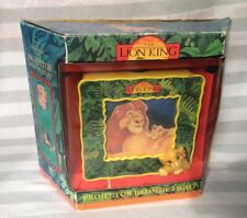 Disney The Lion King Projector Bedside Light Vintage Mufasa Simba Missing Pieces