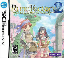 Rune Factory 2: A Fantasy Harvest Moon. Nintendo DS/DSi/3DS. Rare. RPG