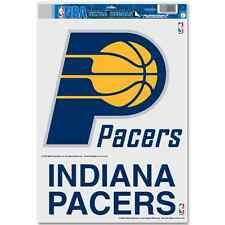 "INDIANA PACERS LOGO ULTRA DECALS 11""X17"" BRAND NEW FREE SHIPPING"