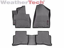 WeatherTech Floor Mat FloorLiner for Hyundai Tucson - 16-17 -1st/2nd Row - Black