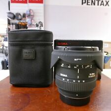 Used Sigma EX DC 10-20mm f4-5.6 lens in Pentax fit - 1 YEAR GTEE