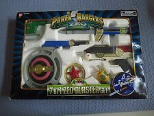 Power Rangers Zeo 7-IN-1 Blaster Weapon Set ~ Complete in original Factory Box