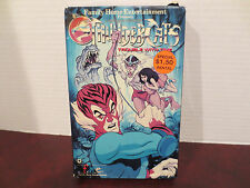 Vintage Rankin Bass ThunderCats VOl 4 Trouble With Time VHS Rental Rare cassette