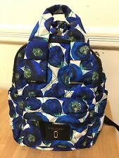 NWT Marc Jacobs Nylon Blue Backpack Bag