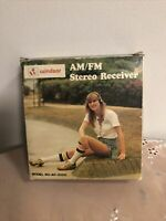NEW Vintage Windsor Am Fm Stereo Receiver With ear phone Model No ST-3000