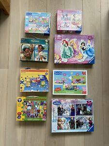 Jigsaw Ravensberg Disney Puzzle Bundle Age 3+. 23 Puzzles!! Frozen. Pepper Pig.