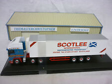 Oxford Diecast/Modern 1:76th Truck ERF EC Olympic Fridge Scotlee 76EC001