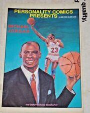 1991 Michael Jordan Chicago Bulls basketball #6 comic book Personalities
