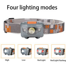 500LM Ultra Mini Headlight CREE R3 +2 LED Flashlight Headlamp Head Torch Lamp