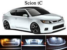 Xenon White License Plate / Tag 168 LED light bulbs for Scion tC (2Pcs)
