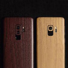 Holz Dekor Sticker Samsung Galaxy S9 S9+ Backcover Case Schutz