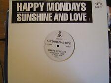 "Happy Mondays Sunshine & Love 3 mixes - US DJ 12"""