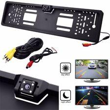 Auto Rückfahrkamera IR Nachtsicht Kamera Nummernschild Kennzeichenhalterung DHL