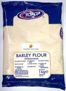 BARLEY FLOUR - JAV - WHOLEMEAL - TOP-OP - 1kg