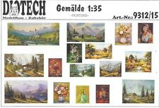 Gemälde - Set 1 Ära WWII 1:35 von DIOTECH