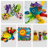 Lamaze Baby Soft Interactive Toys Calamari Butterfly Book Spiral Rattles *Select