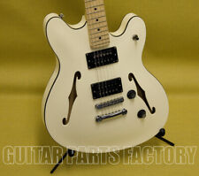 037-0590-505 Squier Starcaster Guitar Maple Fingerboard Olympic White by Fender