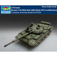 Mod.1972 modification Trumpeter 7148 Russian T-62 BDD Mod.1984 in 1:72