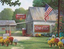 Springbok's 500 Piece Jigsaw Puzzle Coca-Cola Country General