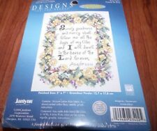 "Janlynn ROSE PSALM  Counted Cross Stitch Kit 5"" x 7"" Goodness and Mercy..."