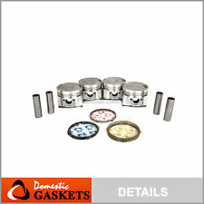 DNJ PR108.40 Oversize Piston Ring Set For 85-93 Hyundai Sonata 2.4L SOHC 8v