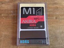 M1 MPC-11 Akira Korg Memory Sound Card