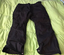Womens RIDE SNOWBOARDING Strata HD II Pants Sz XL Black Breathable Waterproof