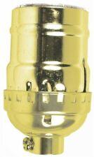 Socket Keyless Brass,No 60406, Jandorf Specialty Hardware, 3Pk