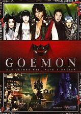 Goemon - His Crimes Will Save A Nation Blu Ray DVD