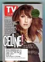 TV Guide Magazine March 30-April 5 2002 Celine Dion EX w/ML 121516jhe