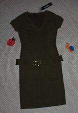 NEUF ✿❀ Robe brillante + ceinture assortie femme ✿❀ MORGAN ✿❀ Taille L