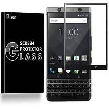 BlackBerry Keyone / Mercury [BISEN] Tempered Glass Full Cover Screen Protector