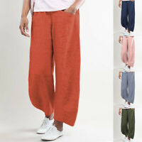 Straight-leg Pants Wide Leg Long Pants Loose Pants Casual Trousers