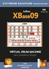 XTREME samples Jomox Xbase 09 HD Virtual Drum Machine exs24 | Ni contatto