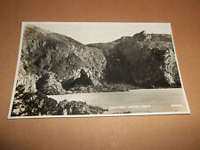 VINTAGE POSTCARD: THE SWISS VILLAGE GOUGH'S CAVES CHEDDAR  ~ B&W REAL PHOTOGRAPH