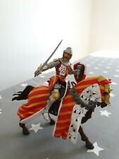 Papo 2002 medieval knight's horse and knight NEW