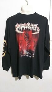 Sepultura morbid visions long sleeve T shirt thrash metal sarcofago sodom slayer