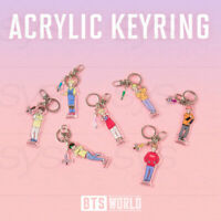 BTS WORLD BTS STORY Acrylic Keyring + Tracking Number