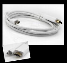 6FT MINI DISPLAYPORT/THUNDERBOLT HDMI ADAPTER CABLE FOR MACBOOK AIR PRO MAC IMAC
