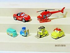 Lot of 6 Disney Pixar Cars Leakless Stacy Kathy Copter Movie Moments Mia Guido