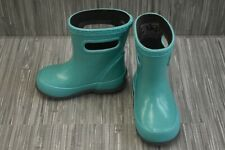 New listing *Bogs Kids Skipper Glitter Rain Boots, Toddler Girl's Size 5, Turquoise