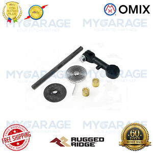 Omix-ADA For 41-73 Willys / Jeep 134 CI Exhaust Manifold Hardware Kit - 17625.01