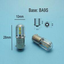 Lampadina lampada BA9s 4 LED 24V bianco giallo verde blu rosso