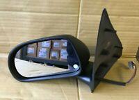 FIAT BRAVO WING DOOR MIRROR LEFT HAND ELECTRIC1996-2002 BLACK