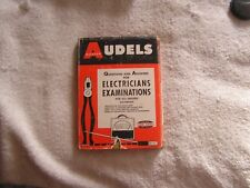 Audels Electricians Examinations Questions Answers 1963