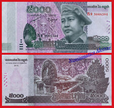 CAMBODIA 5000 Riels 2015 2017 Pick NEW - UNC