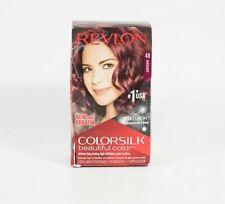 Revlon Colorsilk Beautiful Color Permanent Hair Color Gray Coverage 48 BURGUNDY