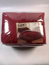 Sherpa/Fleece Comforter - F/Q - Burgundy