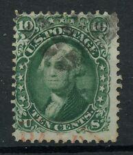 USA Scott #68 10c 1861 Washington SIGNED