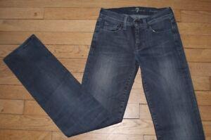 7 For All Mankind Jeans pour Femme  W 26 - L 32 Taille Fr 36  (Réf# Y161)
